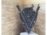 Кованный набор для шампуров ДУХ ЛЕСА