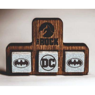 Камни для виски с Гравировкой BATMAN