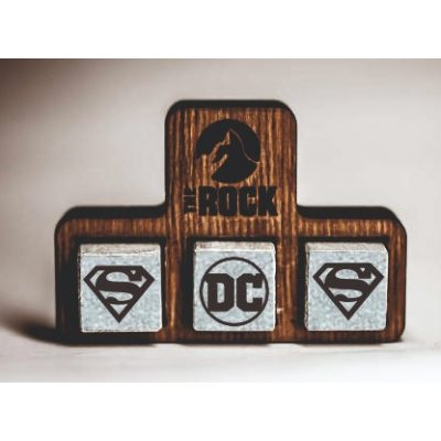 Камни для виски с Гравировкой SUPERMAN