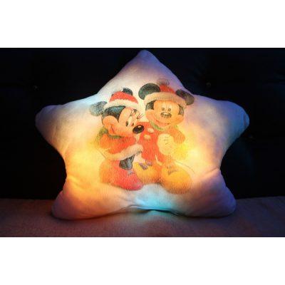 Подушка которая светится МИККИ МАУС