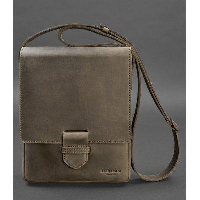 Мужской кожаный портфель TIDING BAG BROWN