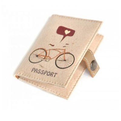 Обложка для ID паспорта ВЕЛОСИПЕД