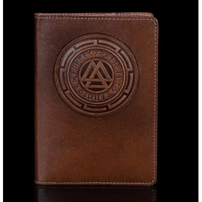 Обложка для паспорта из нат. кожи UKRAINIAN TOURIST