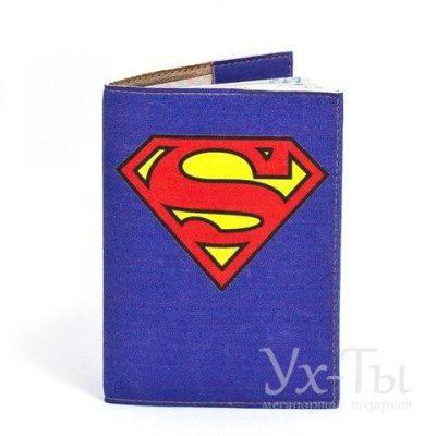 Обложка для паспорта 'Супермен'