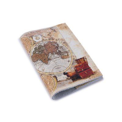 Обложка для паспорта СТАРИННАЯ КАРТА