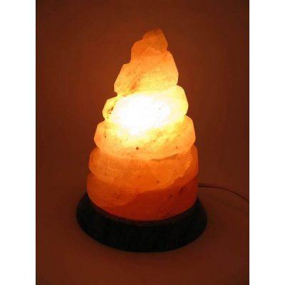 Соляная лампа из Гималайской соли СПИРАЛЬ