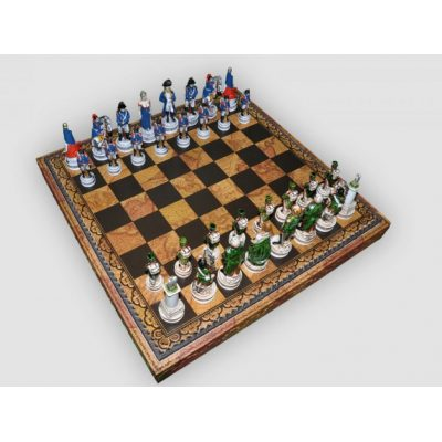 Шахматные фигуры БИТВА при БОРОДИНО (medium size)