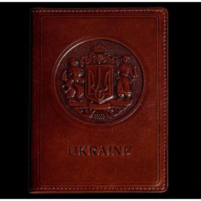 Обложка для паспорта из нат. кожи JACK DANIELS