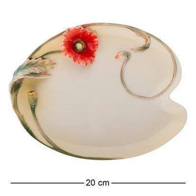 Тарелка десертная фарфор МАКИ