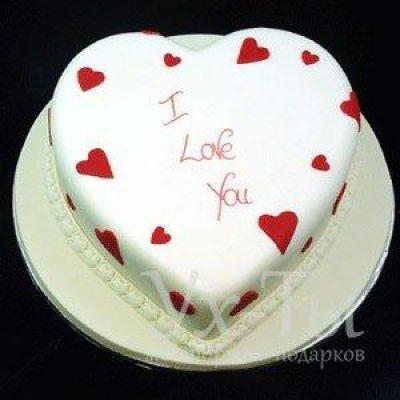Торт 'Я люблю тебя'