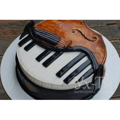 Торт 'Музыка'