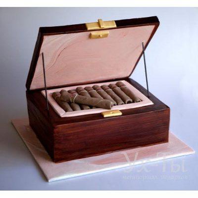 Торт 'Коробка сигар'