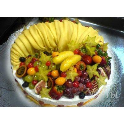 Торт 'Фруктовый рай'