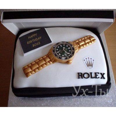 Торт 'Часы Rolex'