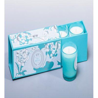 Свеча парфюмированная в наборе МОРСКОЙ БРИЗ