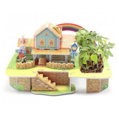 3D конструктор с живым растением RAINBOW HOUSE
