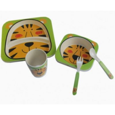 Детская посуда из Бамбука ТИГРЕНОК