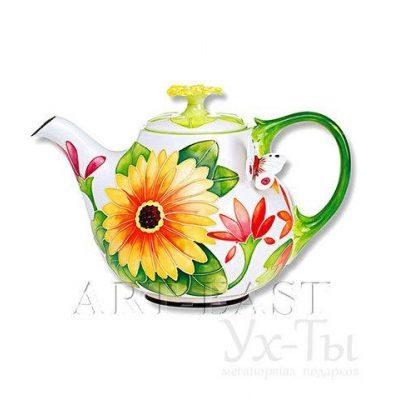 Заварочный чайник ГЕРБЕРЫ