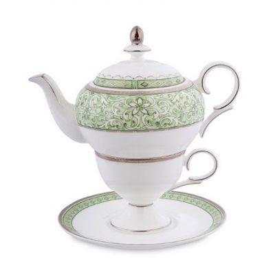 Чайный набор СОЛО АДЕЛИНЫ (костяной фарфор)