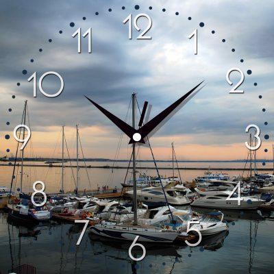 Картина-часы БУХТА