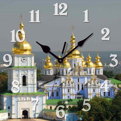 Картина-часы МИХАЙЛОВСКИЙ СОБОР