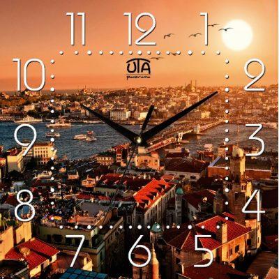 Картина-часы ГОРОД 2