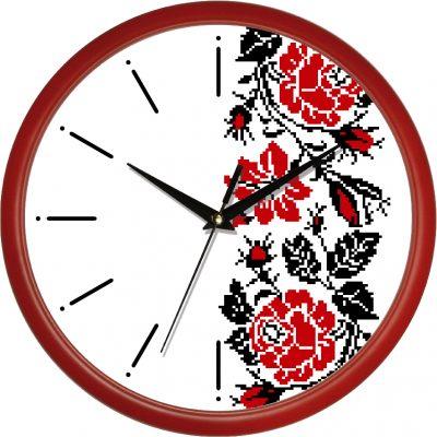 Акриловые часы УЗОР