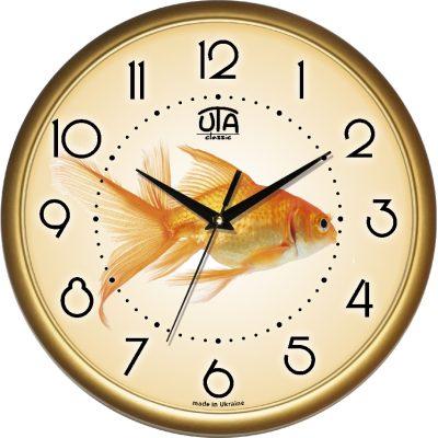 Акриловые часы ЗОЛОТАЯ РЫБКА