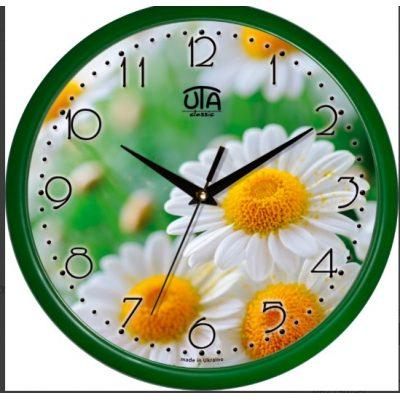 Акриловые часы РОМАШКИ