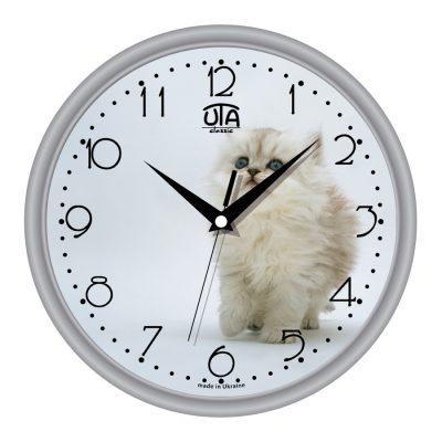 Акриловые часы КОТ