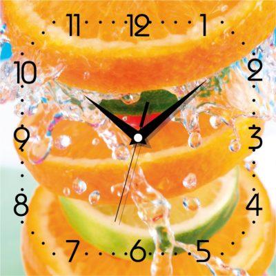 Картина-часы ЦИТРУС