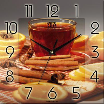 Картина-часы ЧАЙ