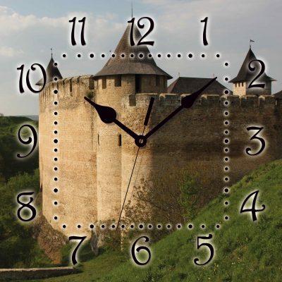 Картина-часы КРЕПОСТЬ ХОТИН