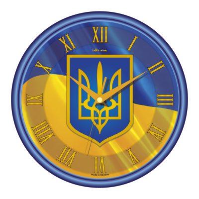 Акриловые часы УКРАИНА