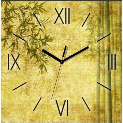 Картина-часы БАМБУК