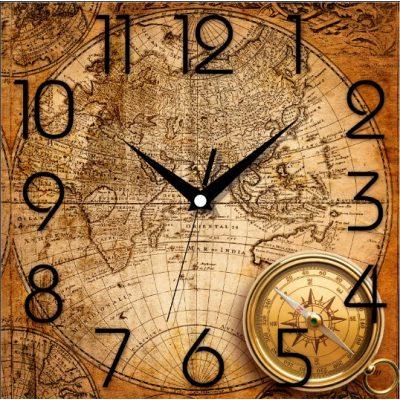 Картина-часы КАРТА