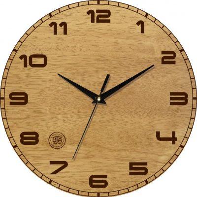 Часы деревянные настенные КЛАССИКА