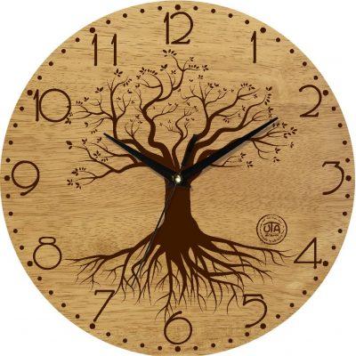 Часы деревянные настенные ДЕРЕВО ЖИЗНИ