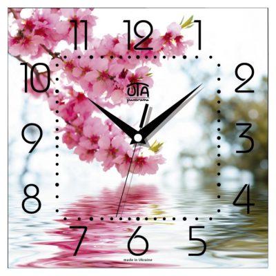 Картина-часы ЦВЕТЫ