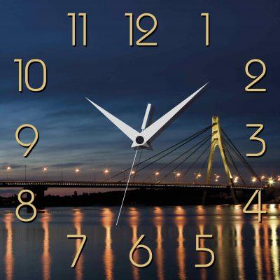Картина-часы НОЧНОЙ КИЕВ