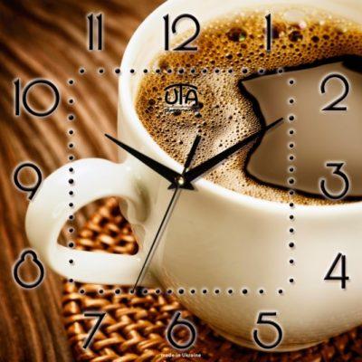 Картина-часы ЧАШКА КОФЕ