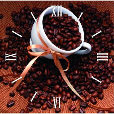 Картина-часы КОФЕ