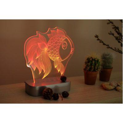 Настольный 3D светильник ЯБЛОКО