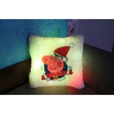 Подушка которая светится СВИНКА ПЕППА