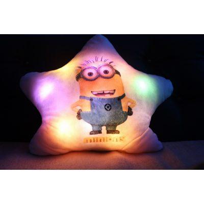 Подушка которая светится МИНЬЙОН