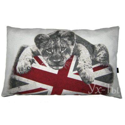 Дизайнерская подушка 'Лев'