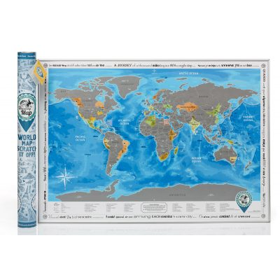 Скретч-карта DISCOVERY MAP WORLD