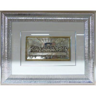 Уникальная икона ТАЙНАЯ ВЕЧЕРЯ (средняя)