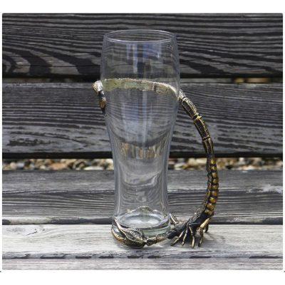 Бокал для пива (натуральная кожа) ЛУЧШЕ ПИВА