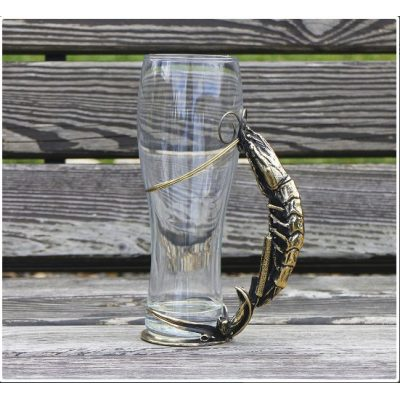 Бокал для пива (натуральная кожа) ПИВА ГЛОТОЧЕК